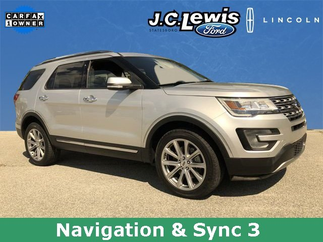 2017 Ford Explorer Limited 3.5L 6-Cylinder SMPI Turbocharged DOHC Engine 4X4 SUV