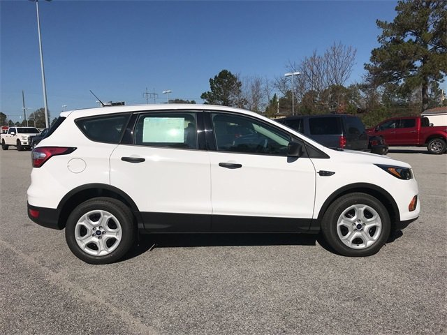 2018 Oxford White Ford Escape S Automatic 2.5L iVCT Engine FWD