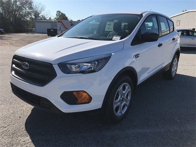 2018 Ford Escape S 4 Door SUV 2.5L iVCT Engine FWD Automatic