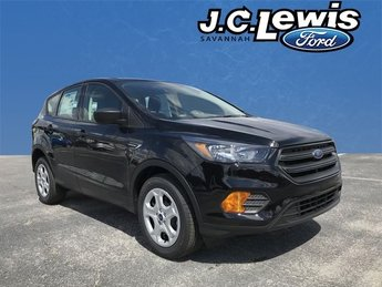 2018 Shadow Black Ford Escape S 2.5L iVCT Engine 4 Door FWD SUV