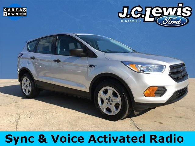 2017 Ingot Silver Metallic Ford Escape S Automatic 2.5L i-VCT Engine FWD