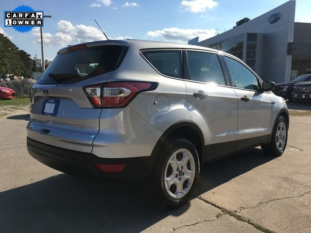 2017 Ingot Silver Metallic Ford Escape S 2.5L i-VCT Engine 4 Door SUV
