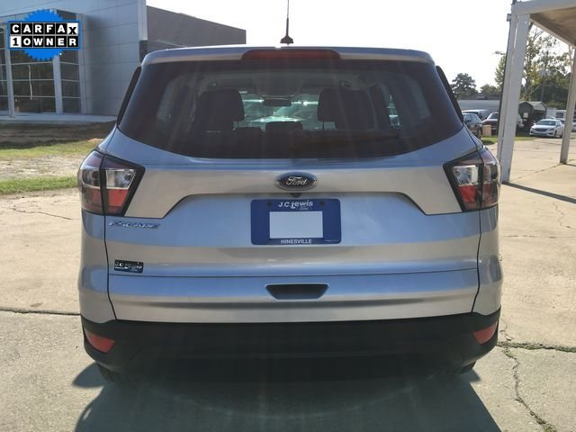 2017 Ingot Silver Metallic Ford Escape S SUV 4 Door Automatic