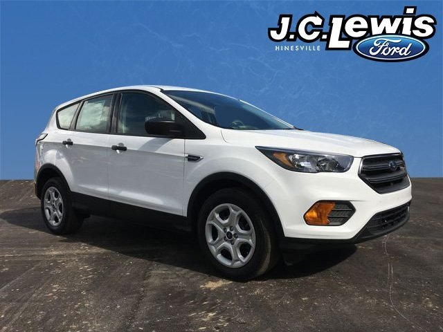 2018 Oxford White Ford Escape S 4 Door 2.5L iVCT Engine FWD SUV Automatic