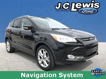 2015 Tuxedo Black Ford Escape Titanium 4 Door EcoBoost 2.0L I4 GTDi DOHC Turbocharged VCT Engine SUV