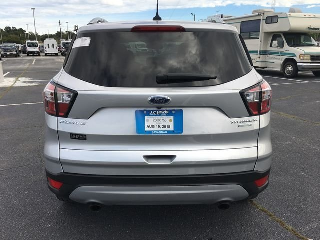 2018 Ingot Silver Metallic Ford Escape Titanium EcoBoost 2.0L I4 GTDi DOHC Turbocharged VCT Engine FWD Automatic SUV