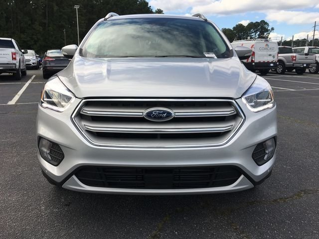 2018 Ingot Silver Metallic Ford Escape Titanium SUV EcoBoost 2.0L I4 GTDi DOHC Turbocharged VCT Engine Automatic