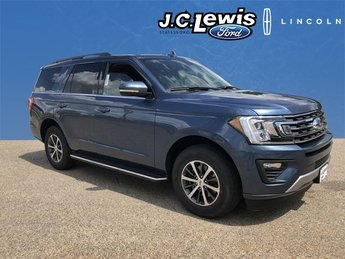 2018 Blue Metallic Ford Expedition XLT EcoBoost 3.5L V6 GTDi DOHC 24V Twin Turbocharged Engine 4 Door SUV RWD
