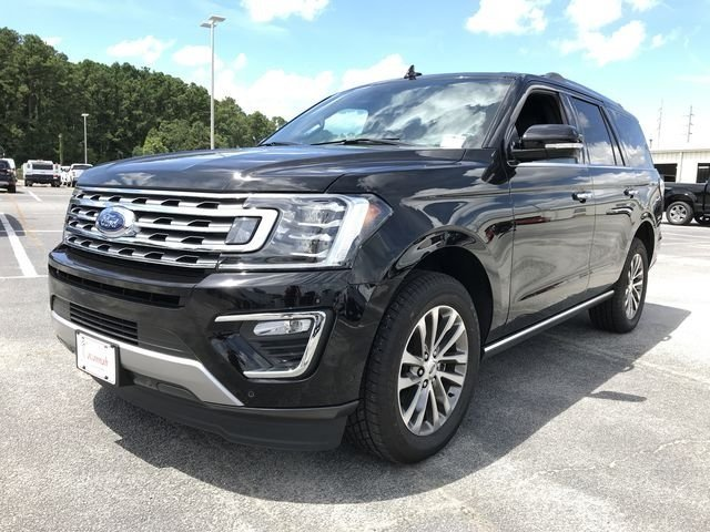 2018 Shadow Black Ford Expedition Limited EcoBoost 3.5L V6 GTDi DOHC 24V Twin Turbocharged Engine 4 Door Automatic SUV RWD