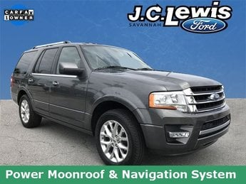 2015 Magnetic Metallic Ford Expedition Limited Automatic EcoBoost 3.5L V6 GTDi DOHC 24V Twin Turbocharged Engine RWD SUV