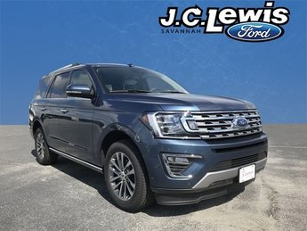 2018 Blue Metallic Ford Expedition Limited Automatic EcoBoost 3.5L V6 GTDi DOHC 24V Twin Turbocharged Engine 4 Door