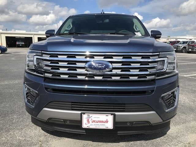 2018 Blue Metallic Ford Expedition Limited RWD SUV EcoBoost 3.5L V6 GTDi DOHC 24V Twin Turbocharged Engine 4 Door