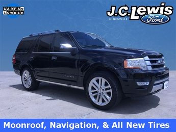2016 Shadow Black Ford Expedition Platinum EcoBoost 3.5L V6 GTDi DOHC 24V Twin Turbocharged Engine SUV 4 Door RWD