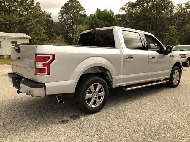 2018 Ingot Silver Metallic Ford F-150 XLT Automatic Truck RWD 5.0L V8 Ti-VCT Engine 4 Door