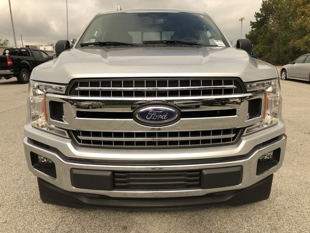 2018 Ingot Silver Metallic Ford F-150 XLT Automatic 4 Door 5.0L V8 Ti-VCT Engine