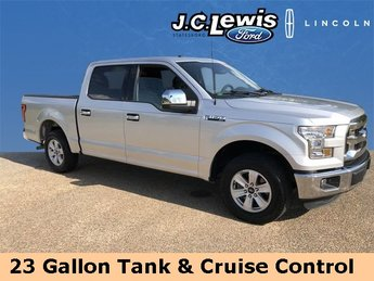 2016 Ingot Silver Metallic Ford F-150 XLT Automatic Truck 4 Door 3.5L V6 Ti-VCT Engine RWD