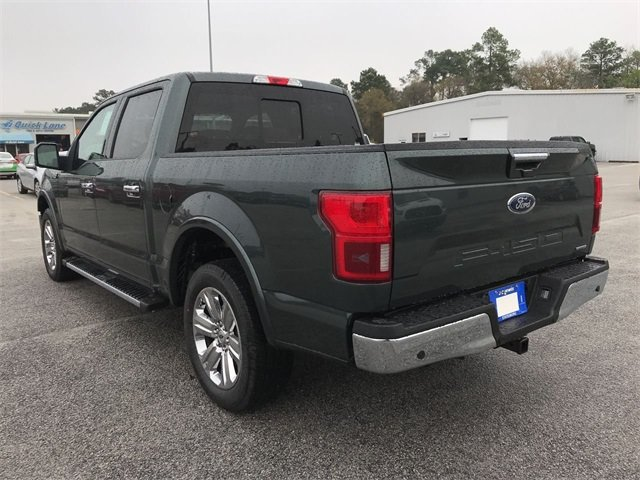 2018 Ford F-150 Lariat Truck EcoBoost 3.5L V6 GTDi DOHC 24V Twin Turbocharged Engine 4 Door