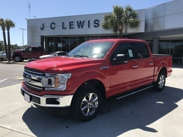 2018 Race Red Ford F-150 XLT EcoBoost 2.7L V6 GTDi DOHC 24V Twin Turbocharged Engine Truck 4 Door RWD Automatic