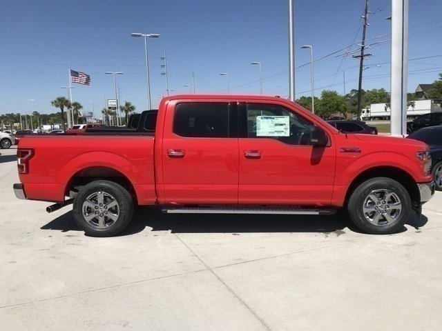 2018 Race Red Ford F-150 XLT 4 Door EcoBoost 2.7L V6 GTDi DOHC 24V Twin Turbocharged Engine Automatic Truck