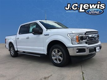 2018 Oxford White Ford F-150 XLT 4 Door EcoBoost 2.7L V6 GTDi DOHC 24V Twin Turbocharged Engine RWD Automatic Truck