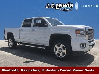 2015 Summit White GMC Sierra 2500HD Denali 4 Door Truck 4X4 Automatic