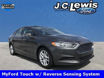 2016 Magnetic Ford Fusion SE 4 Door 2.5L iVCT Engine Sedan FWD