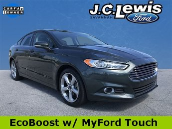 2016 Ford Fusion SE Sedan EcoBoost 2.0L I4 GTDi DOHC Turbocharged VCT Engine Automatic FWD
