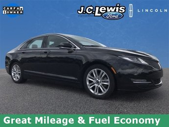2015 Tuxedo Black Metallic Lincoln MKZ Hybrid Sedan 2.0L I4 Atkinson-Cycle iVCT Engine FWD Automatic (CVT)