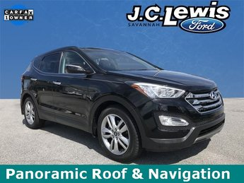 2015 Twilight Black Hyundai Santa Fe Sport 2.0L Turbo Automatic FWD 4 Door