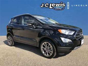 2018 Ford EcoSport Titanium EcoBoost 1.0L I3 GTDi DOHC Turbocharged VCT Engine Automatic FWD