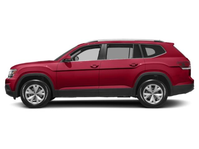 2019 Fortana Red Metallic Volkswagen Atlas 3.6L V6 SE FWD Regular Unleaded V-6 3.6 L/220 Engine 4 Door Automatic SUV