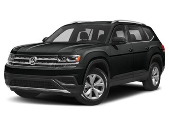2020 Deep Black Pearl Volkswagen Atlas 2.0T SE w/Technology FWD SUV 4 Door