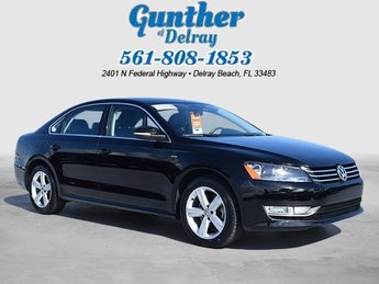 2015 Black Uni Volkswagen Passat 1.8T Limited Edition Automatic Intercooled Turbo Regular Unleaded I-4 1.8 L/110 Engine FWD