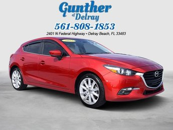 2017 Soul Red Metallic Mazda Mazda3 5-Door Grand Touring Regular Unleaded I-4 2.5 L/152 Engine Hatchback FWD Automatic