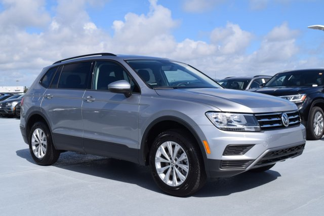 2020 Pyrite Silver Metallic Volkswagen Tiguan S Automatic SUV FWD Intercooled Turbo Regular Unleaded I-4 2.0 L/121 Engine