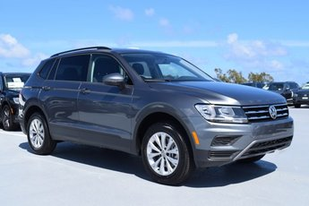 2020 Platinum Gray Metallic Volkswagen Tiguan S SUV 4 Door Automatic