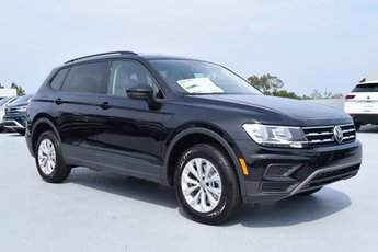2020 Deep Black Pearl Volkswagen Tiguan S Intercooled Turbo Regular Unleaded I-4 2.0 L/121 Engine Automatic 4 Door FWD