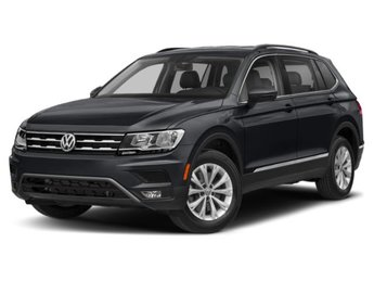 2020 Deep Black Pearl Volkswagen Tiguan SEL AWD Intercooled Turbo Regular Unleaded I-4 2.0 L/121 Engine SUV