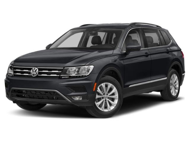 2020 Deep Black Pearl Volkswagen Tiguan SEL Intercooled Turbo Regular Unleaded I-4 2.0 L/121 Engine Automatic SUV FWD