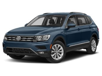 2020 Silk Blue Metallic Volkswagen Tiguan SE FWD 4 Door Automatic