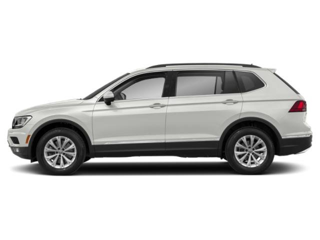 2020 Pure White Volkswagen Tiguan SE FWD Automatic Intercooled Turbo Regular Unleaded I-4 2.0 L/121 Engine SUV