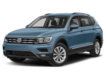 2020 Stone Blue Metallic Volkswagen Tiguan SEL 4 Door Automatic SUV FWD Intercooled Turbo Regular Unleaded I-4 2.0 L/121 Engine