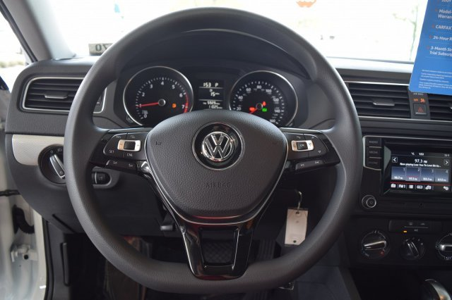 2017 Pure White Volkswagen Jetta 1.4T S Automatic Intercooled Turbo Regular Unleaded I-4 1.4 L/85 Engine FWD