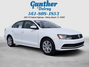 2017 Volkswagen Jetta 1.4T S 4 Door Sedan FWD Intercooled Turbo Regular Unleaded I-4 1.4 L/85 Engine