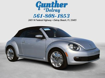 2016 Volkswagen Beetle Convertible 1.8T SEL Convertible Intercooled Turbo Regular Unleaded I-4 1.8 L/110 Engine FWD