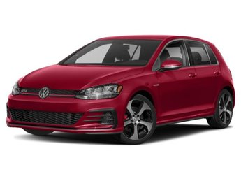 2019 Tornado Red Volkswagen Golf GTI SE Hatchback 4 Door Intercooled Turbo Premium Unleaded I-4 2.0 L/121 Engine Manual FWD