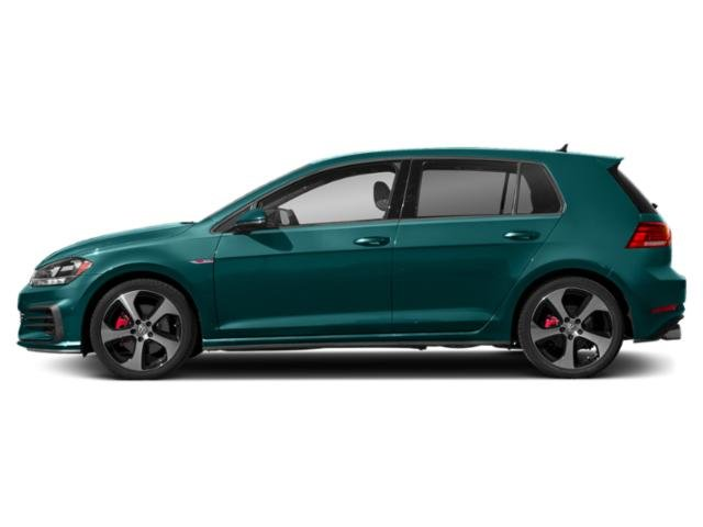2019 Great Falls Green Metallic Volkswagen Golf GTI SE FWD Manual Intercooled Turbo Premium Unleaded I-4 2.0 L/121 Engine 4 Door Hatchback