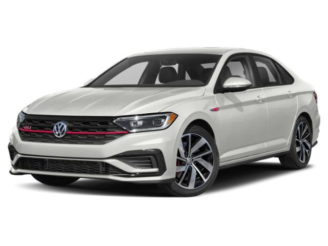 2019 Pure White Volkswagen Jetta GLI S 4 Door Sedan Automatic Intercooled Turbo Premium Unleaded I-4 2.0 L/121 Engine