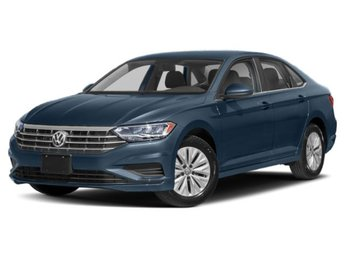 2020 Blue Silk Metallic Volkswagen Jetta S Automatic FWD Sedan