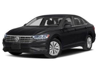 2020 Black Uni Volkswagen Jetta S Intercooled Turbo Regular Unleaded I-4 1.4 L/85 Engine 4 Door Automatic FWD Sedan